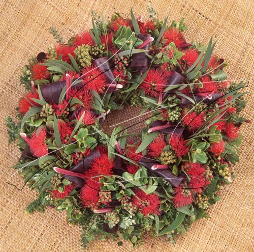 native hawaiian christmas wreath - Christmas In Hawaiian