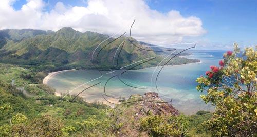 Huilua Fishpond at Kahana Bay