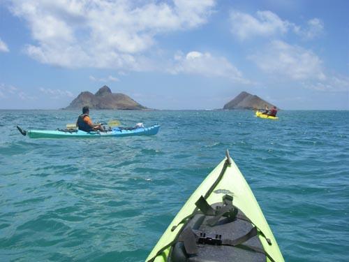 Na Mokulua Hawaii: Mokulua Islands Off Lanikai