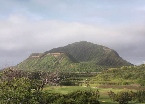 Geological Features of Koko Crater