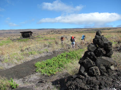 Keauhou-Pushing-Off-Puna Coast Trail-Sml