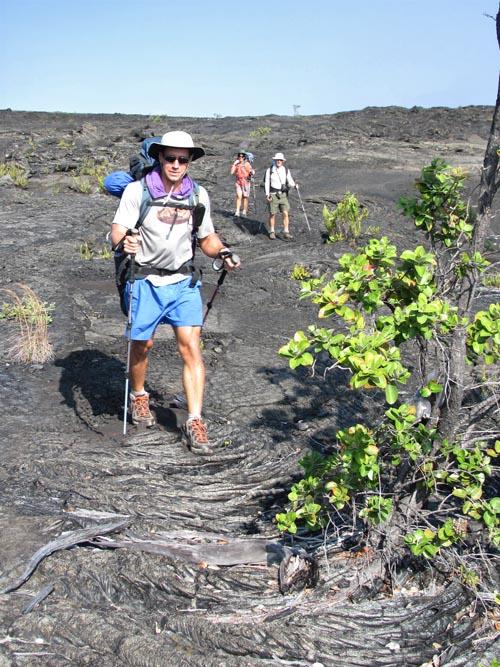 Keauhou-Trail-Rope-Lava-Pete-George-Cheryl-Sml