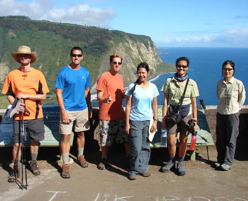 Backpacking to Waimanu Valley