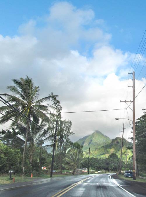 Rain Squalls Over Ohulehule