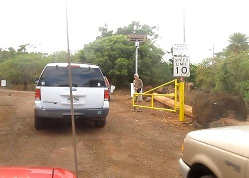 Clearing the Kawainui Trail