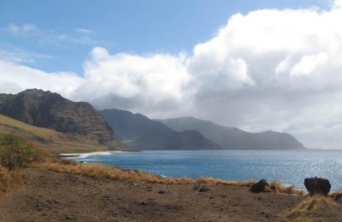 Kaʻena Point from Keawaʻula