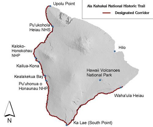 Mamalahoa Trail on the Kona Coast