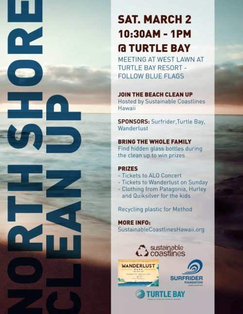 Kahuku Beach Cleanup